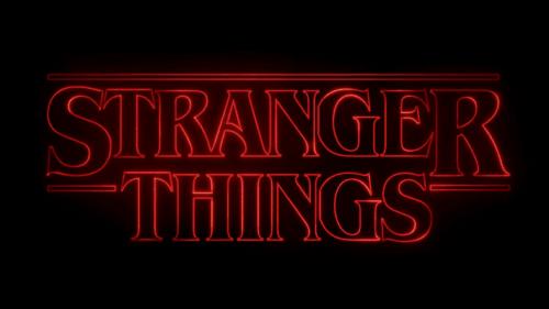 De serie stranger things