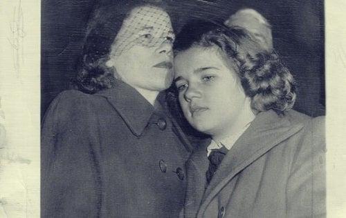 Sally Horner met haar moeder