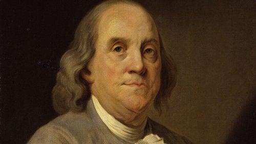 Vijf wijze citaten van Benjamin Franklin