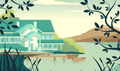 Het prachtige fabeltje van het huis zonder meester