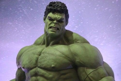 Het hulk-syndroom en onbeheersbare woede