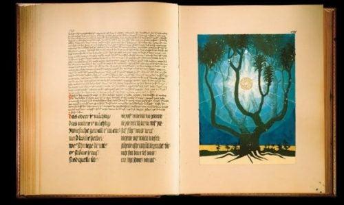 Pagina uit het Rode Boek