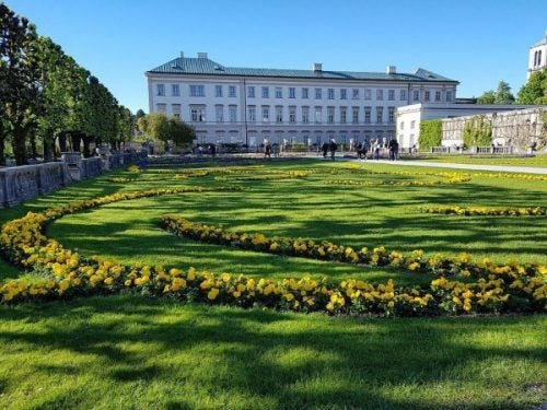 Mirabell paleis in Salzburg