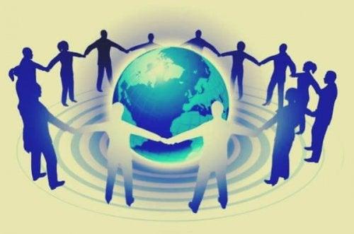 Connectie met elkaar