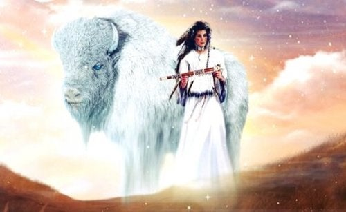 De Witte Buffel Kalf Vrouw - een Indiaanse legende