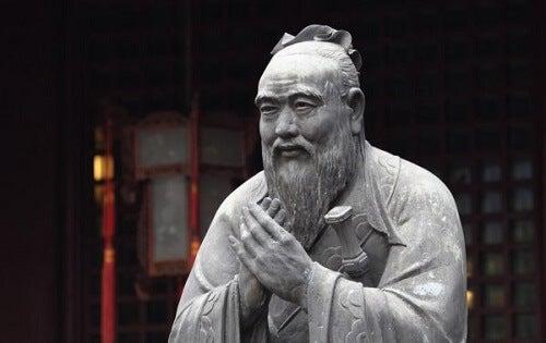 Confucius en de drie wijze aapjes