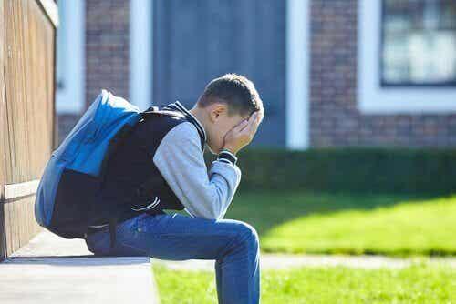 Leerlingen met angst om naar school te gaan