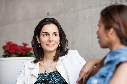 Kom je partner tegemoet tijdens het gesprek