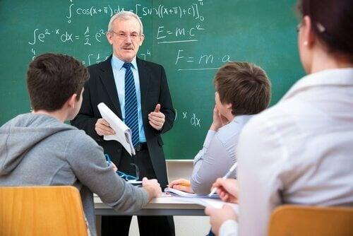 Lessen gebaseerd op passief leren