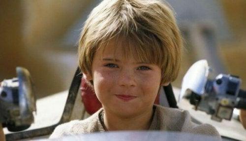 De jonge Anakin Skywalker