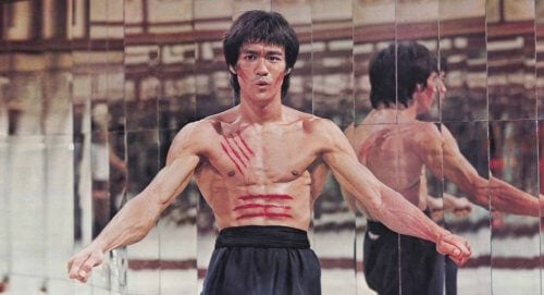 Bruce Lee in een film