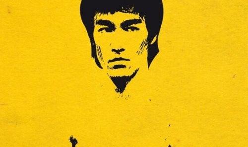 Schilderij van Bruce Lee