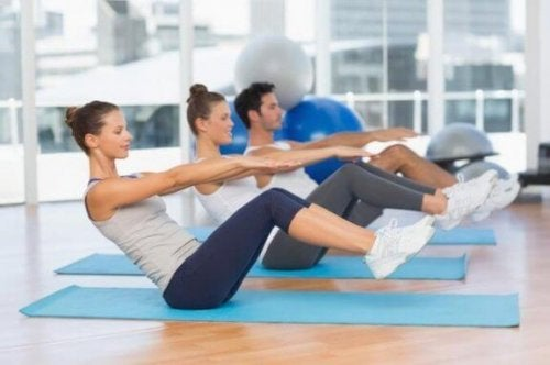 Vijf pilates-oefeningen voor beginners