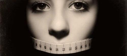 Foto tegen eetstoornissen