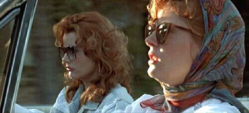 Thelma and Louise onderweg
