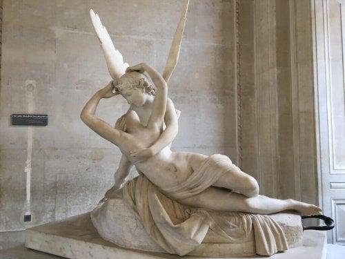 Psyche Nieuw leven ingeblazen door Cupido's Kiss