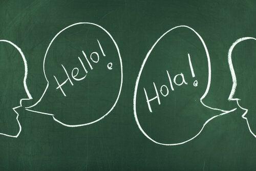 Hallo in twee talen