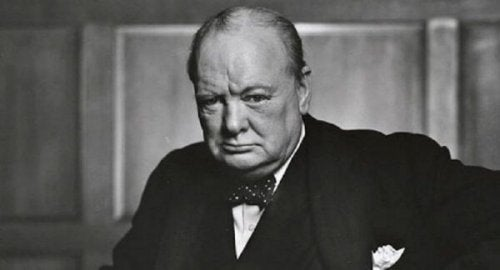 Foto van Winston Churchill