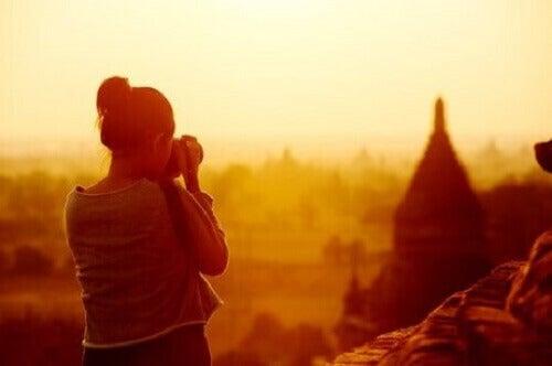 De culturele interesse van reizigers