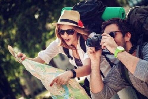 Onvermoeibare reizigers zijn nieuwsgierige mensen