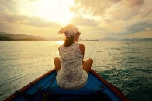 Wanneer je reist verwerf je zelfkennis