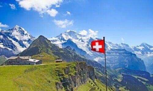 Zwitserland een veerkrachtig land