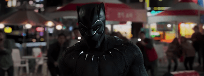 Black Panther in actie