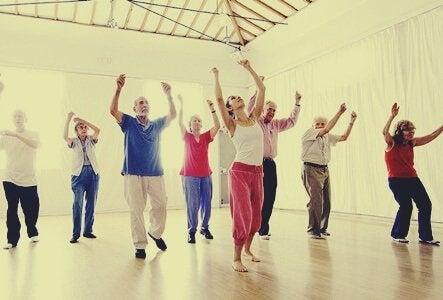 dansen op je oude dag groepsdansen