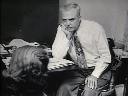 Milton Erickson aan het werk