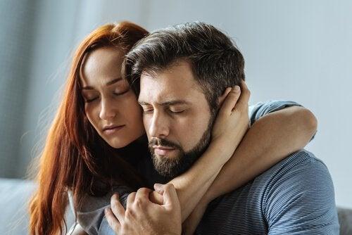 hunkeren naar liefde knuffel