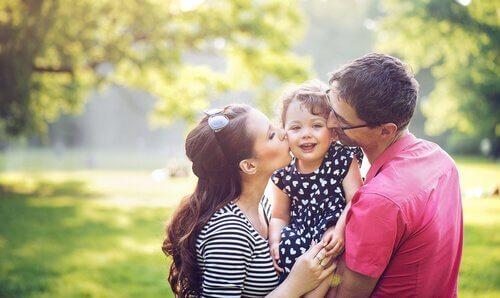 Ouders met hun kind