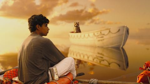 Scene uit de film life of pi