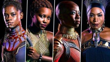 De vrouwen in de film Black Panther
