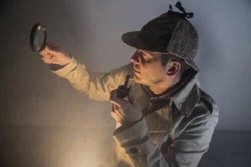 Het Aspergersyndroom verwijst naar Sherlock Holmes