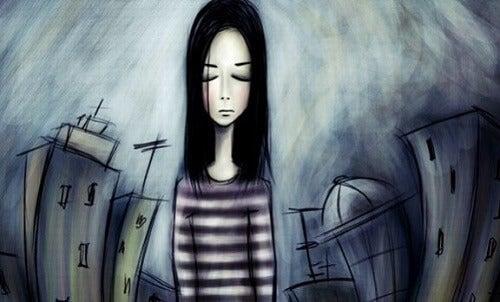 Wat is het verband tussen eigenwaarde en depressie?