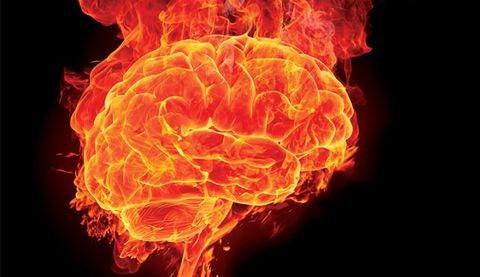 Brein in brand