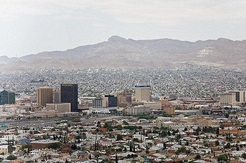 De stad Ciudad Juarez