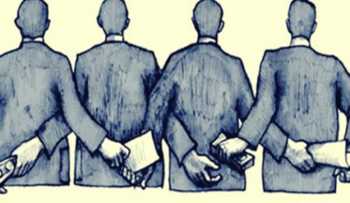 Corruptie begint bij anonieme mensen