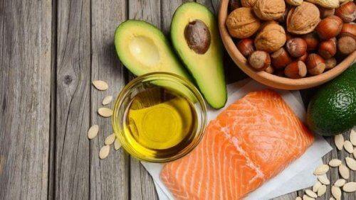 Voedingsmiddelen met gezonde vetten