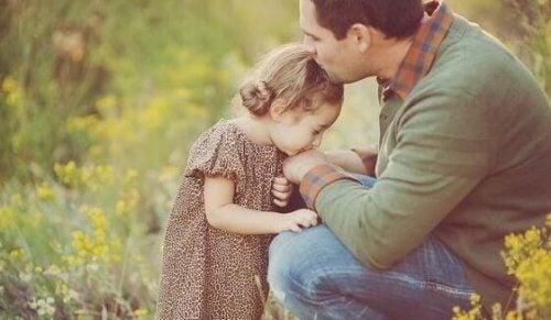 maximale uit je kinderen vader kust dochtertje