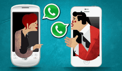 Het WhatsApp koppel: texting in relaties