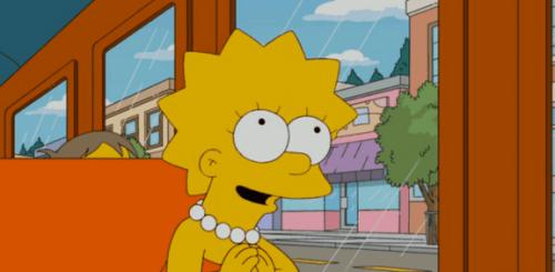 Lisa Simpson: de druk van slim zijn