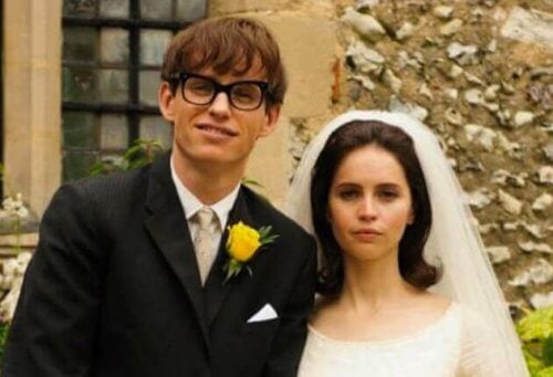 Scene uit the theory of everything