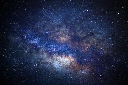 Afbeelding van het universum