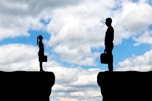De kloof tussen mannen en vrouwen