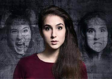 Vrouw met meerdere gezichten