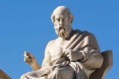 Beeld van Plato