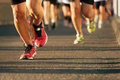 Een marathon lopen: mind over matter