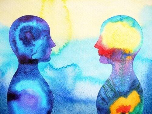 Persoonlijkheidsverschillen aangeduid met kleuren