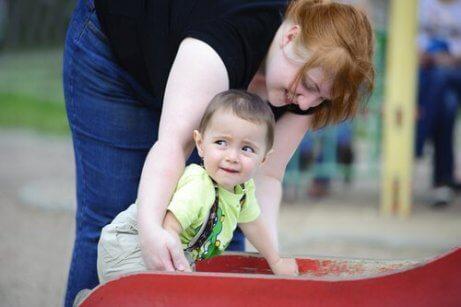 Veilige hechting tussen moeder en kind